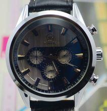Fuyate personalida comercial 6 agujas calendario reloj mecánico completamente automático para hombre de hombres reloj j195