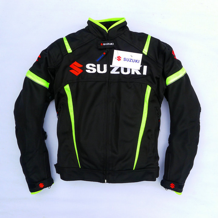 2016 newest motorcycle off road jackets for suzuki motocross jacket with protective gear drop resistance(China (Mainland))