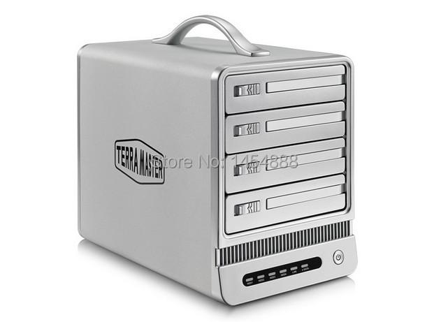 TerraMaster F4-NAS Empty slot four bay RAID storage system network storage NAS server(China (Mainland))