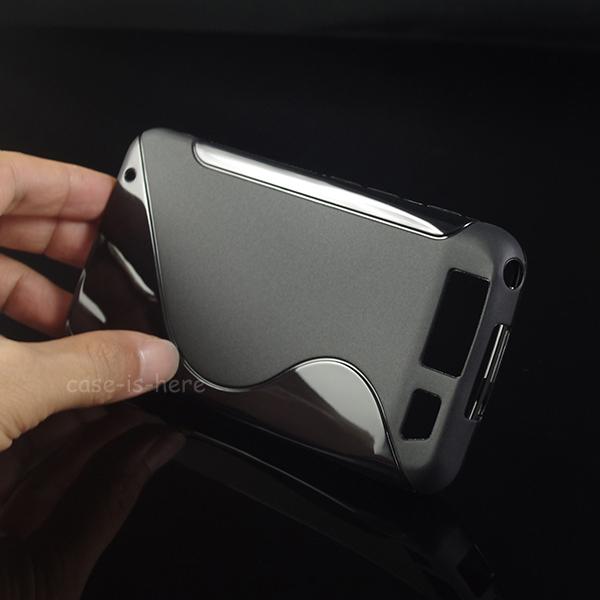 Soft S-Line Wave Anti-skid TPU Gel Cover Case Skin for Motorola MB886 Atrix HD Dinara Mobile Phone Protective Rubber Matte Cover(China (Mainland))