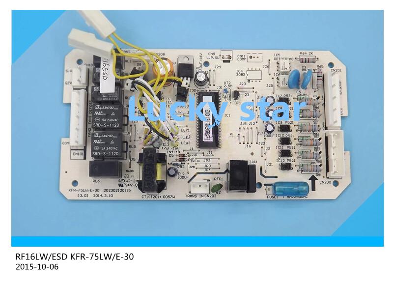 Здесь можно купить  97% new for Air conditioning computer board circuit board RF16LW/ESD KFR-75LW/E-30 PC board good working  Бытовая техника