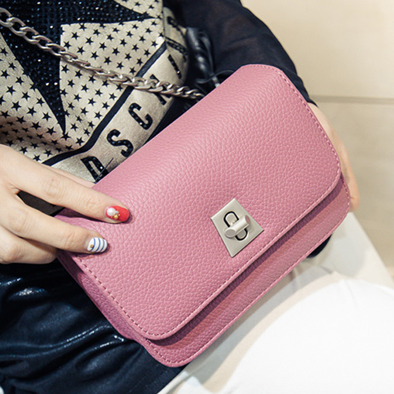Фотография The new 2016 han edition female BaoXiaoFang package mini contracted to restore ancient ways bag shoulder bag chain