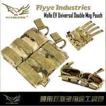 Genuine Flyye M024 1000D CORDURA Waterproof Nylon Military Tactical Molle Mag Pouch Molle Gear Bag Tools Acccessories Pouches(China (Mainland))