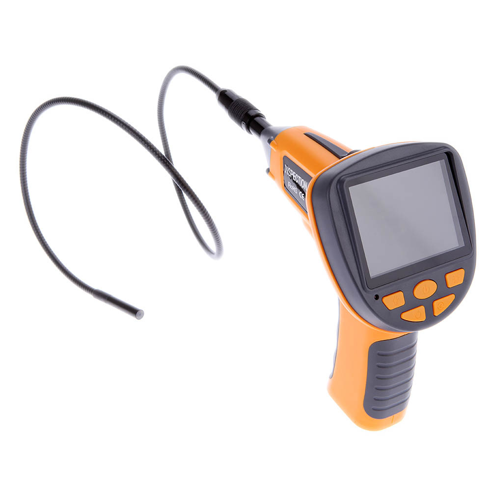 "4 LEDs Waterproof 3.5"" TFT LCD Digital Inspection Borescope Endoscope Snake 8.5mm Scope Camera(China (Mainland))"