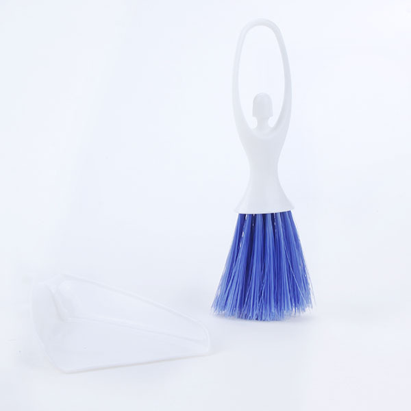 New Car Auto Dashboard Vent Keyboard Cleaning Brush Small Broom Dustpan Set(Hong Kong)