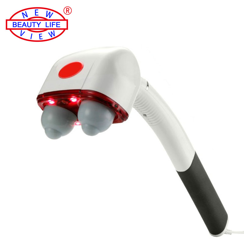 Brand Multifunction Percussion Double Head Electric Massager Cervical Vertebra Neck Massage Hammer Health Care Body Relaxation<br><br>Aliexpress