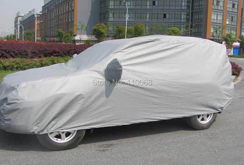 Купить Плюс размер Автомобиля чехлы для Toyota LAND CRUISER Volvo Один Джип Mitsubishi ВНЕДОРОЖНИК Водонепроницаемый Сопротивление Снег Пыли Крышка Автомобиля