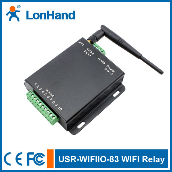 Гаджет  5 Channel WIFI Relay Control with Ethernet port - free android app software None Электронные компоненты и материалы
