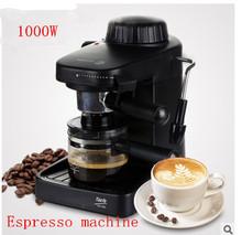 Automatic espresso Faema Black coffee machine portable drip coffee maker cappuccino with milk steaming high quality(China (Mainland))