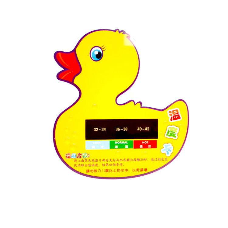Hot Sale 2016 Cute Cartoon Duck LCD Bath Tub Baby Thermometer Water Temperature Tester Infant Temperature Toy Kids Temperature(China (Mainland))