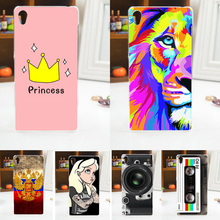 NEW ! 2016 HOT Colored Painting Cover Case FOR HTC Desire 610, FOR HTC 610 Phone Back Protective Case Cover