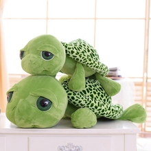 2015 New arriving 20cm Army green Big eyes turtle plush toy turtle doll turtle kids as Birthday Christmas gift Free shipping(China (Mainland))