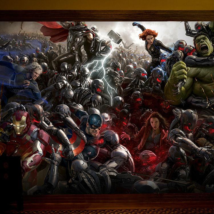 Buy the avengers photo wallpaper 3d for Buy mural wallpaper