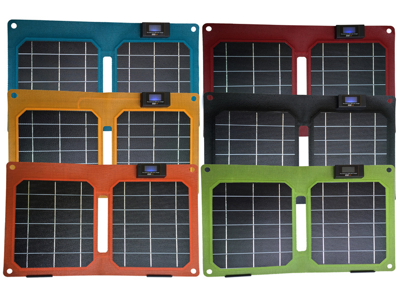 2016 Newest with display 5V 10W ETFE USB Solar Charger Solar for iPhone 6S/6S Plus, iPad Air 2/mini 3, Galaxy S6/S6 Edge etc(China (Mainland))