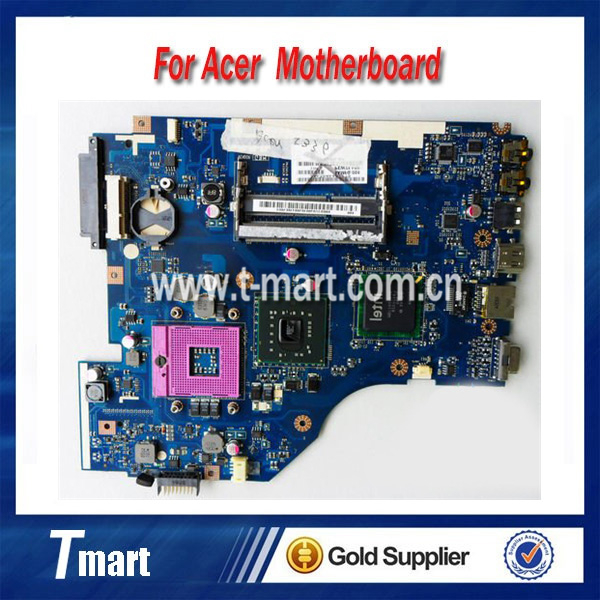 100% working Laptop Motherboard for ACER LA-6631P PEW72 5336 System Board fully tested