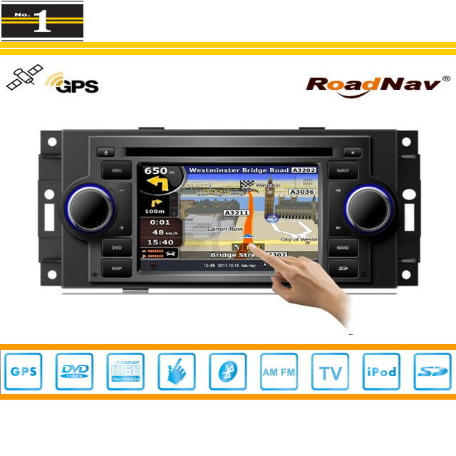 For JEEP Compass 2007~2008 - Indash GPS Navigation DVD Player Radio Stereo TV BT iPod 3G WIFI 1080P S100 Multimedia System(China (Mainland))