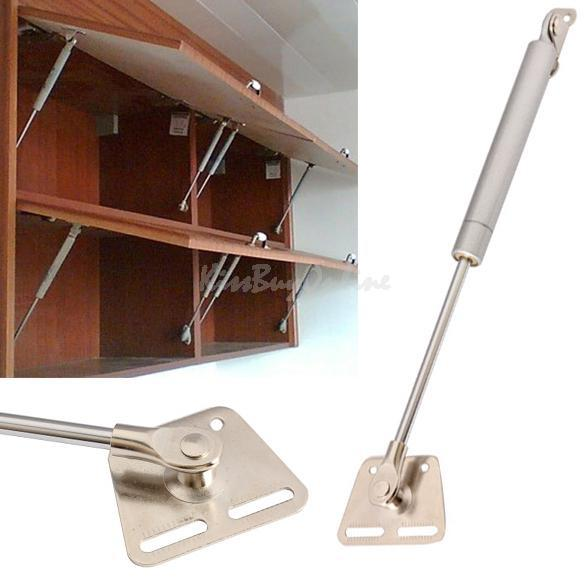 Practical Furniture Hinge Kitchen Cabinet Door Lift Pneumatic Support Hydraulic Gas Spring Stay Hold E5M1(China (Mainland))