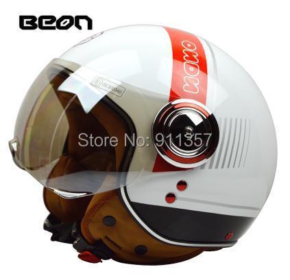 2014 BEON Limited motorcycle helmet  vintage motorcycle half helmet  ABS ECE approved capacete motorcycle helmets ,half helmet