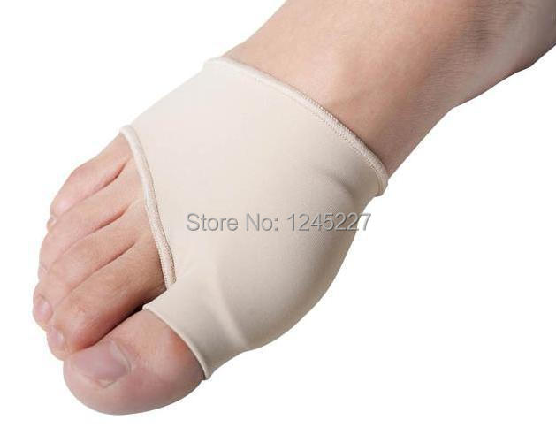 Bunions gel sleeve relieve pain soft shock absorb free shipping  silicon comfort orthotics <br><br>Aliexpress