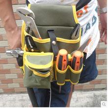 Herramienta de Hardware lienzo cintura bolsa correa Utility Kit de bolsillo organizador de la bolsa envío gratis