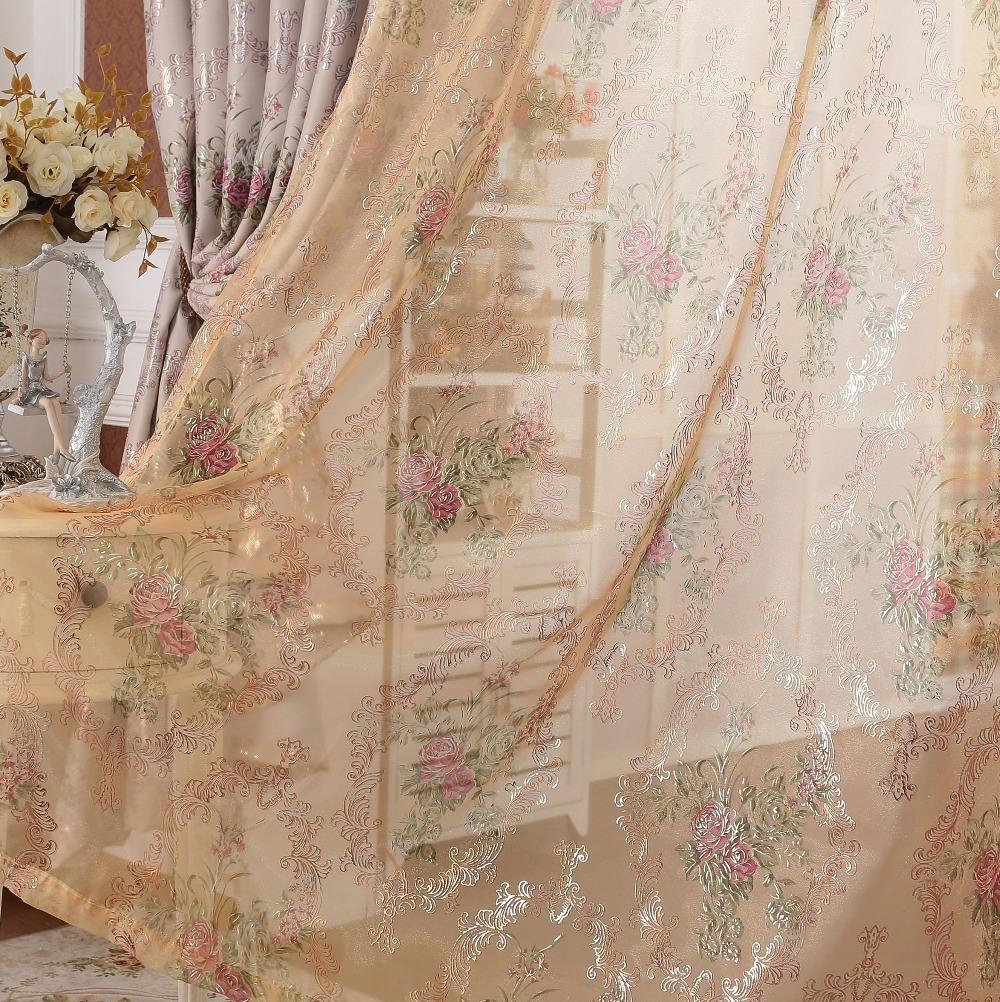Rustic Living Room Curtains Design