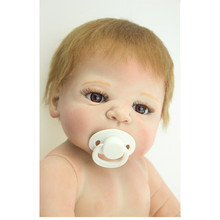 New Design Silicone Reborn Dolls Naked Doll 50cm,Lifelike Baby Reborn Newborn Toys for Children Free Shipping(China (Mainland))