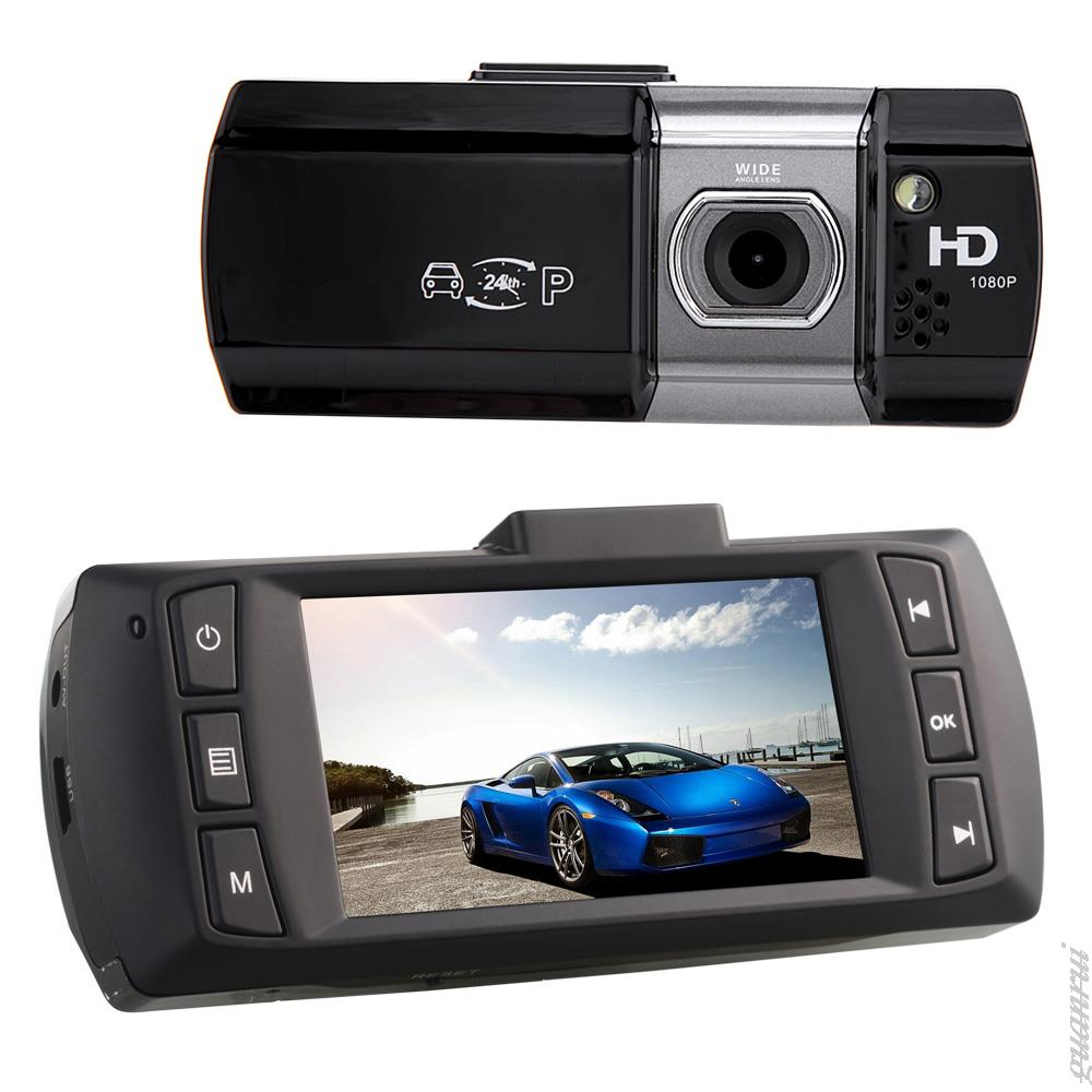 blackvue HD 1920*1080P video 2.7 inch Vehicle Mini dx camera black/blue box Video Recorder 148 degree G-sensor +8G SD as gift(China (Mainland))