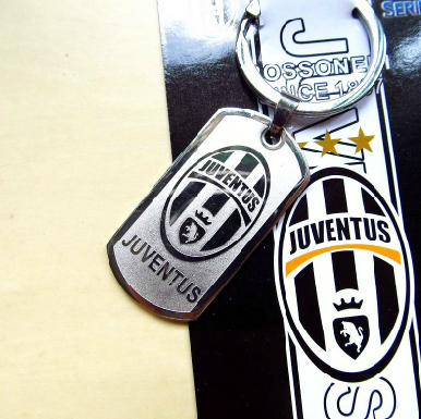2015 Football Fans Keychain Souvenir Soccer Stainless Steel Keyring Club Team Key Holder Trinket - jim yue's store