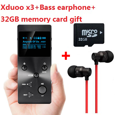 with real 32GB TF card+Strong Bass earphone,XDUOO X3 HIFI MP3 digital Music Player,DSD lossless music player,Authorize Agent(China (Mainland))