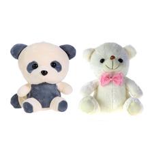 Large Cute New Teddy Bear Panda Doll Bear Hug Colorful LED Flash Light,Led Plush toy Free  Shipping(China (Mainland))