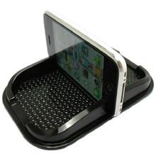 New Black Car Dashboard Sticky Pad Mat Anti Non Slip Gadget Mobile Phone GPS Holder Interior Item Accessories(China (Mainland))