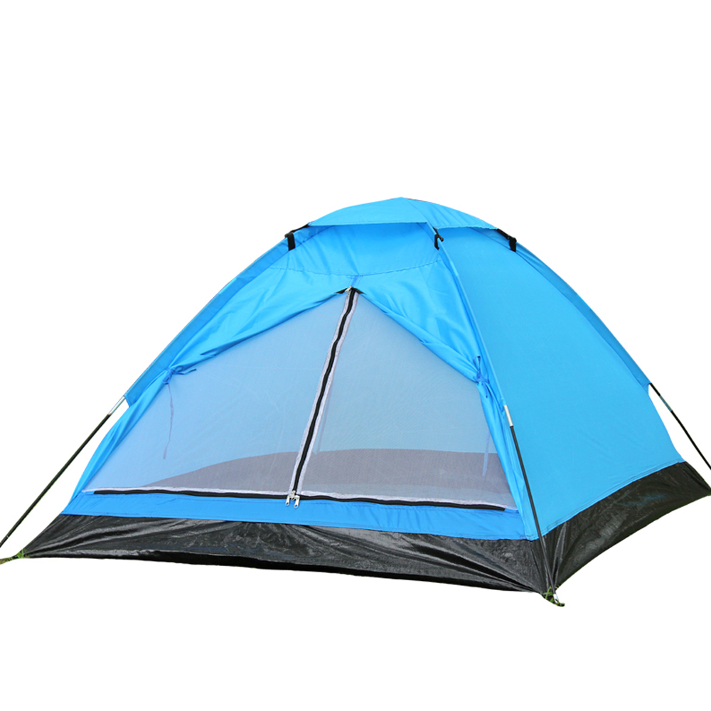 New Ultra-light 2 Person 4-Season Family Dome Camping Tent Beach Tourist Tent Hiking Sleeping Tents 195*135*105cm 180T Ployester(China (Mainland))