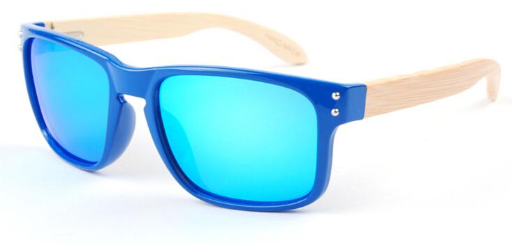 Bamboo Sunglasses With UV Protection Female Polarized Wood Glasses Women Brand Designer Mirror Oculos(China (Mainland))