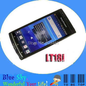 Sony Ericsson Xperia Arc S LT18i LT18a cellphones 4.2 inches 3G Android phone original unlocked