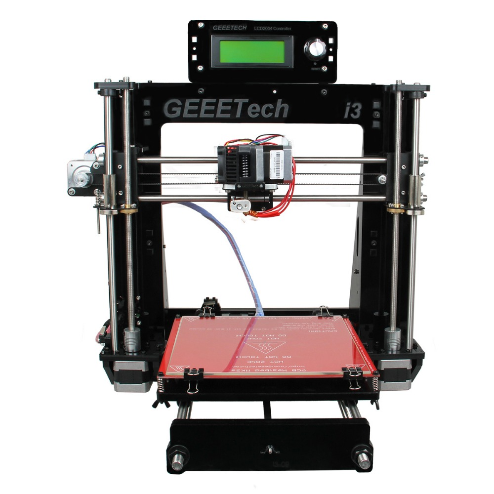 2016 Newest Quality High Precision Reprap Prusa I3 3d Printer DIY Kits Free LCD