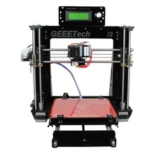 2016 Newest Quality High Precision Reprap Prusa I3 3d Printer DIY Kits Free LCD and 1KG Filament