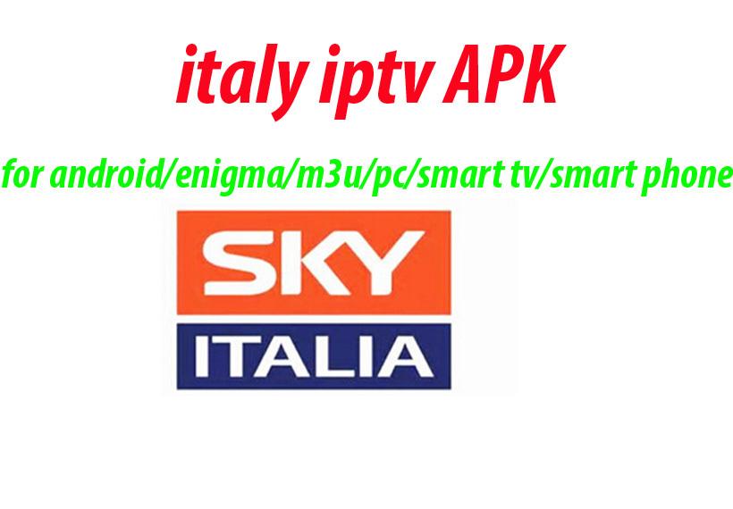 [해외]스카이 이탈리아 IPTV 이탈리아 계정 Apk1 월 서비스 지원..