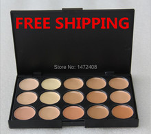 hot 15 colors Special Professional 15 Color Concealer s Facial Face Cream Care Camouflage Makeup Palettes