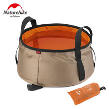 Buy NatureHike 10L Ultralight Outdoor Nylon Folding Water Washbasin Portable Wash Bag Foot Bath Camping Equipment outodor tool for $11.00 in AliExpress store