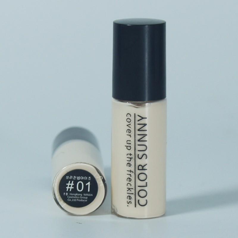 1 pcs olho Preto corretivo líquido rosto cartilha paleta de contorno maquiagem fundação base de maquiagem duradoura líquido corrector para o rosto