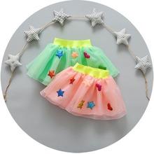 Fashion Infants Baby Girls Kids Children Bow Ball Gown Tutu Organza Heart Star Perfrmance Dance Princess Skirts S2828(China (Mainland))