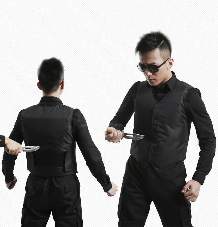 tactical proof vest 1.67kg Stabproof Vest Hard Panels Made Stab Proof Vest 24 Jouls Quality Puncture Proof Vest 0.31sqm cloth(China (Mainland))