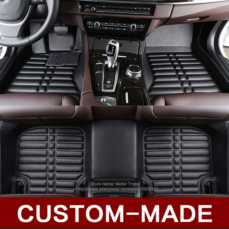 Custom fit car floor mats special for Audi Q7 SUV 3D heavy duty all weather car-styling rugs carpet floor liners(2006-present)<br><br>Aliexpress
