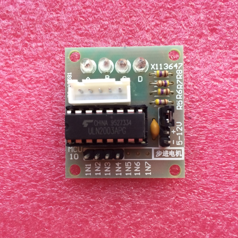 High-power ULN2003 Stepper Motor Driver Board Test Module For Arduino AVR SMD