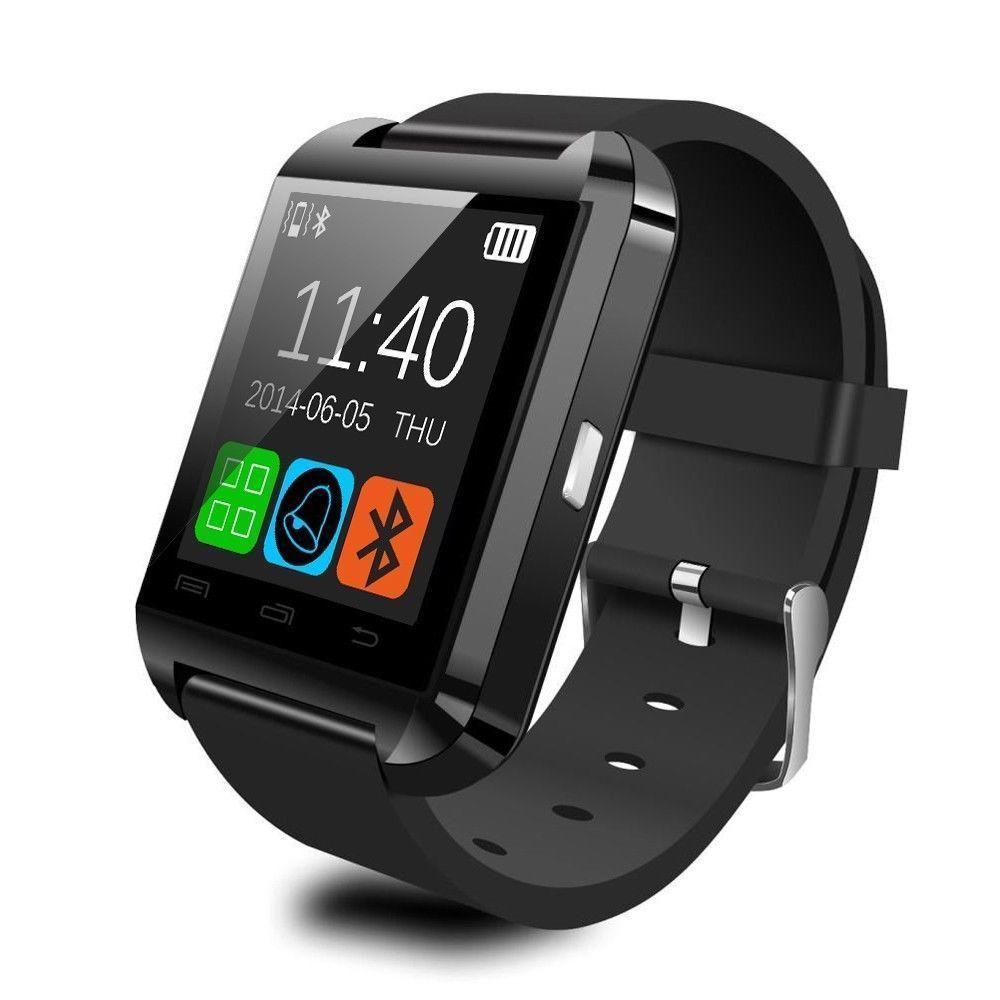 100% Original U8 Smart Bluetooth Wrist Watch Fashion Smartwatch U Watch For iPhone Android Samsung HTC LG Sony 3 Colors(China (Mainland))