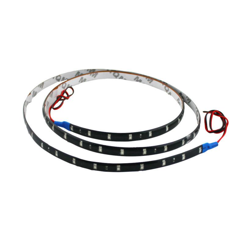 50pcs 120CM/60 1210 LED Car Motors Truck Flexible Strip Light Waterproof,Car Decorative White Strip Lamps,12V<br><br>Aliexpress