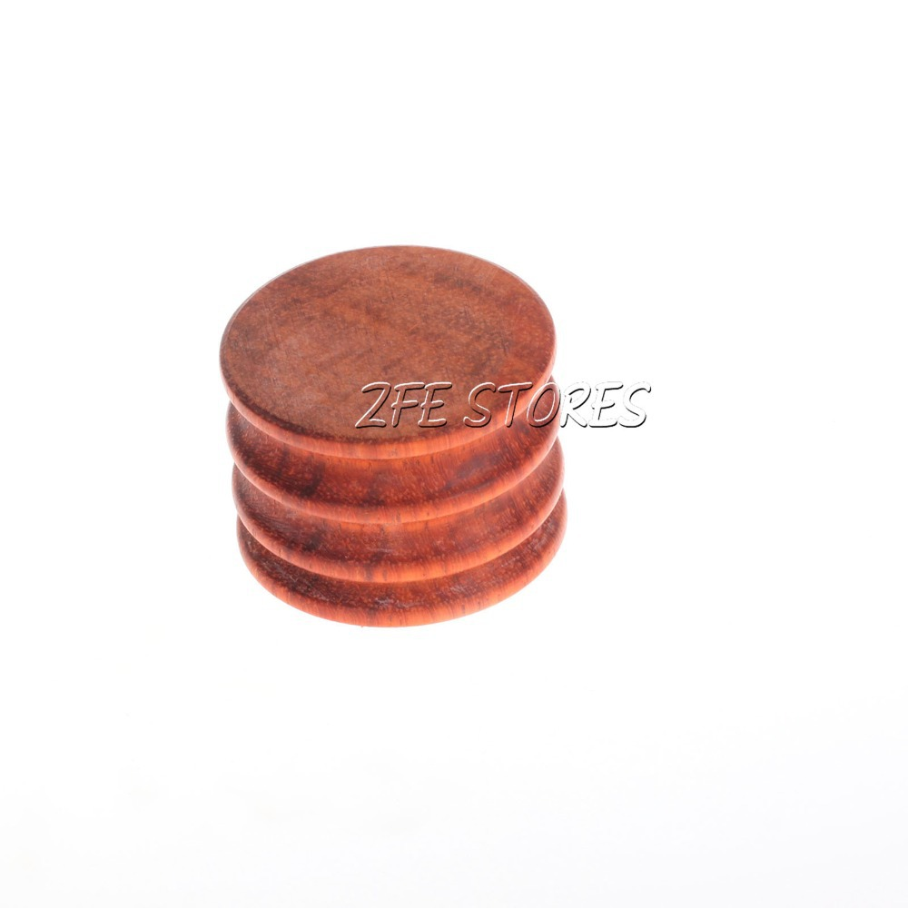 New 1Pc Leather Burnisher Cocobolo Slicker Leather Tool