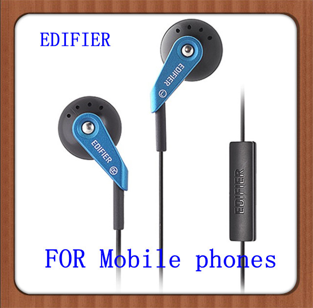 EDIFIER H185P High-quality Communications Earplugs Stereo Earphone Headset With Microphone For Mobile phones mp3/mp4(China (Mainland))
