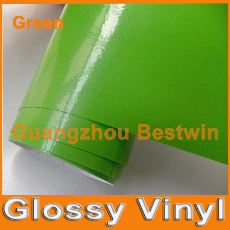 Free shipping glossy vinyl wrap 30m air free bubble sticker pvc fabric a lot colour choose(China (Mainland))