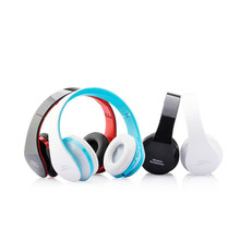 Bluetooth Speakers Headset Stereo  with Mic Handsfree Wireless for Audio  Vibration Reminder for Smartphone Tablets